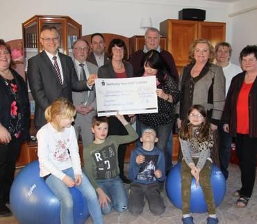 4.000 Euro für das Kinderhaus Domizil in Wansleben am See