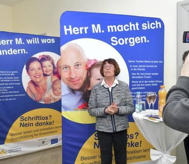 """Schriftlos? Nein danke!  Feierliche Eröffnung der Landesausstellung """"Alphabetisierung und Grundbildung Sachsen-Anhalt"""""""