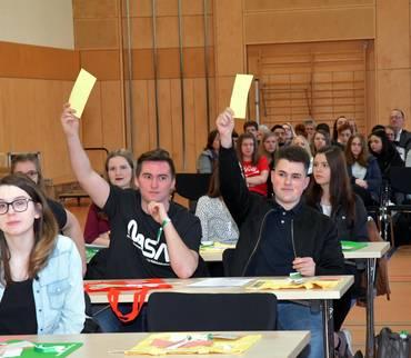 3. Jugendkreistag - 50 Jugendliche diskutieren und beschließen