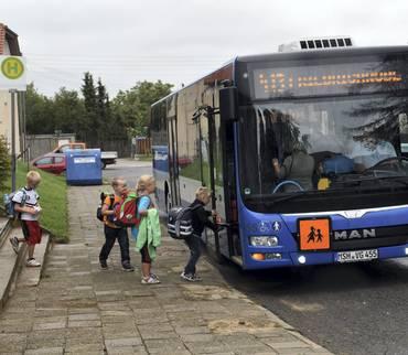 Fahrplanänderungen wegen Schließungen von Schulen und Kitas