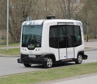 Wie geht es mit dem selbstfahrenden Shuttlebus in Stolberg weiter?