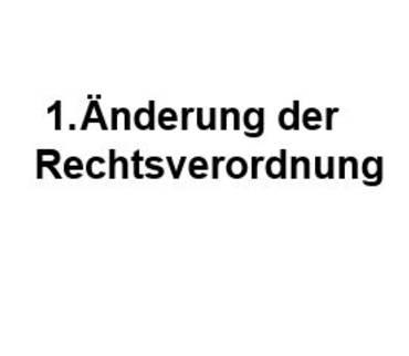 1. Änderung der Rechtsverordnung des Landkreises Mansfeld-Südharz zur Einschränkung von Kontakten