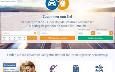 Das Pendlerportal des Landkreises Mansfeld-Südharz.