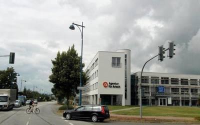 Die Agentur für Arbeit in Sangerhausen. Foto: Landkreis Mansfeld-Südharz