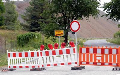 Straßensperrungen im Zeitraum vom 18. bis 24. Oktober 2021