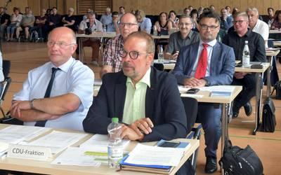 Fraktion der CDU im Kreistag Mansfeld-Südharz ©Landkreis Mansfeld-Südharz/U. Gajowski
