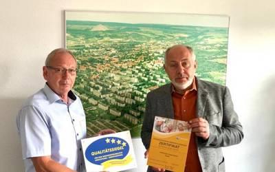 Bestätigung für die Stadtwerke Sangerhausen GmbH