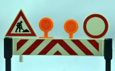 Sperrung L 236: Unvernünftige Autofahrer verlängern Baustelle