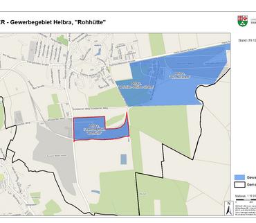 "Verbandsgemeinde Mansfelder Grund-Helbra - Gewerbegebiet Helbra, ""Rohhütte"""