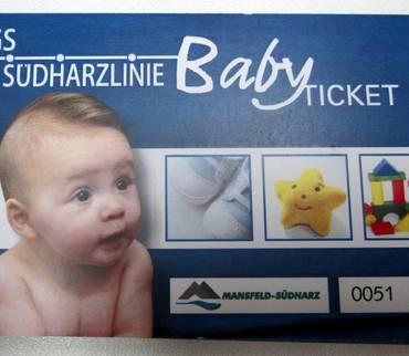 Landkreis und Verkehrsgesellschaft Südharz verlängern kostenfreies Baby-Ticket