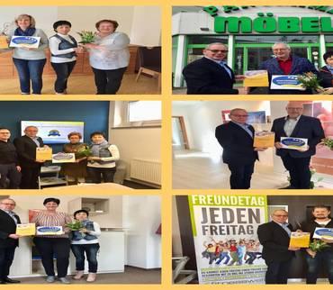 Kreisseniorenrat Mansfeld-Südharz zeichnet Partner mit dem Zertifikat 'Seniorenfreundlicher Service' aus