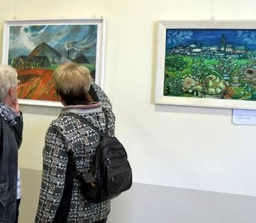Feierliche Eröffnung der 5. Ausstellung mit Werken aus der Mansfeld-Galerie
