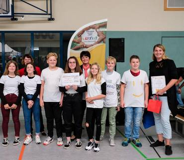 """Gewinner des Schüler-Video-Wettbewerb  """"Inklusion in Mansfeld-Südharz"""""""