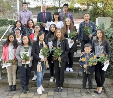 Einbürgerungsfeier in der Kreismusikschule