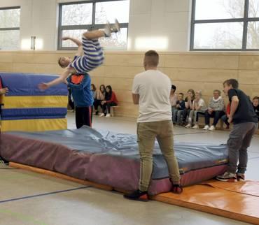 Sporthalle für das Förderzentrum Mansfeld-Südahrz in Luth. Eisleben übergeben