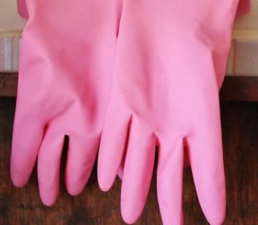 Gummihandschuhe und Mundschutzmasken gehören nicht in den Gelben Sack