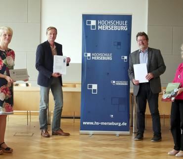 Landkreis Mansfeld-Südharz und die Hochschule Merseburg besiegeln ihre Zusammenarbeit