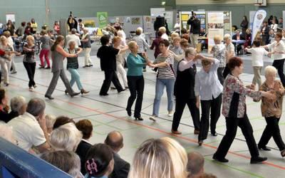 Alljährlich veranstaltet der Kreisseniorenrat sein Seniorenforum, auf dem es Angebote für die ältere Generation,  aber nicht nur diese,  gibt.  Foto: Landkreis Mansfeld-Südharz/U. Gajowski