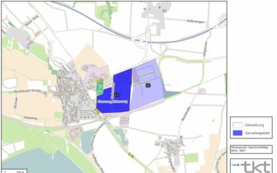 Verbandsgemeinde Goldene Aue - Gewerbegebiet Berga