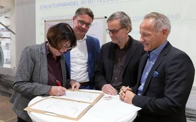 Beitritt zur Metropolregion Mitteldeutschland beantragt
