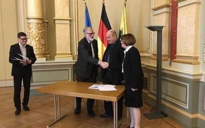 Fördervertrag für das Theater in der Lutherstadt Eisleben unterschrieben