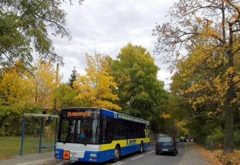 Im Landkreis Mansfeld-Südharz gibt es einen ausgedehnten Öffentlichen Personennahverkehr. Foto: Landkreis Mansfeld-Südharz
